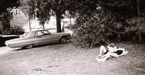 Florida 1976 Dutch photographer Toon Michiels and his wife Sjannie