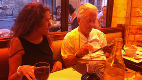 Lunch with Susan Lipper in Arles