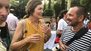 With RAINER RIEDLER in Arles 2019