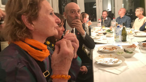 Maria Broodthaers Gilissen and Walter Swennen in Gallery Sofie Van de Velde Antwerp.