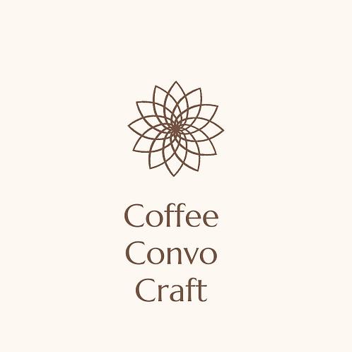 Coffee Convo Craft Event