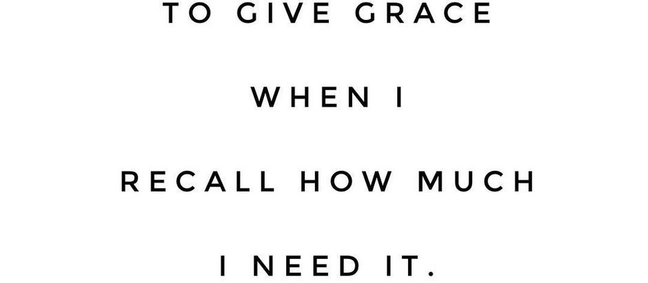 Unlimited supply of Grace