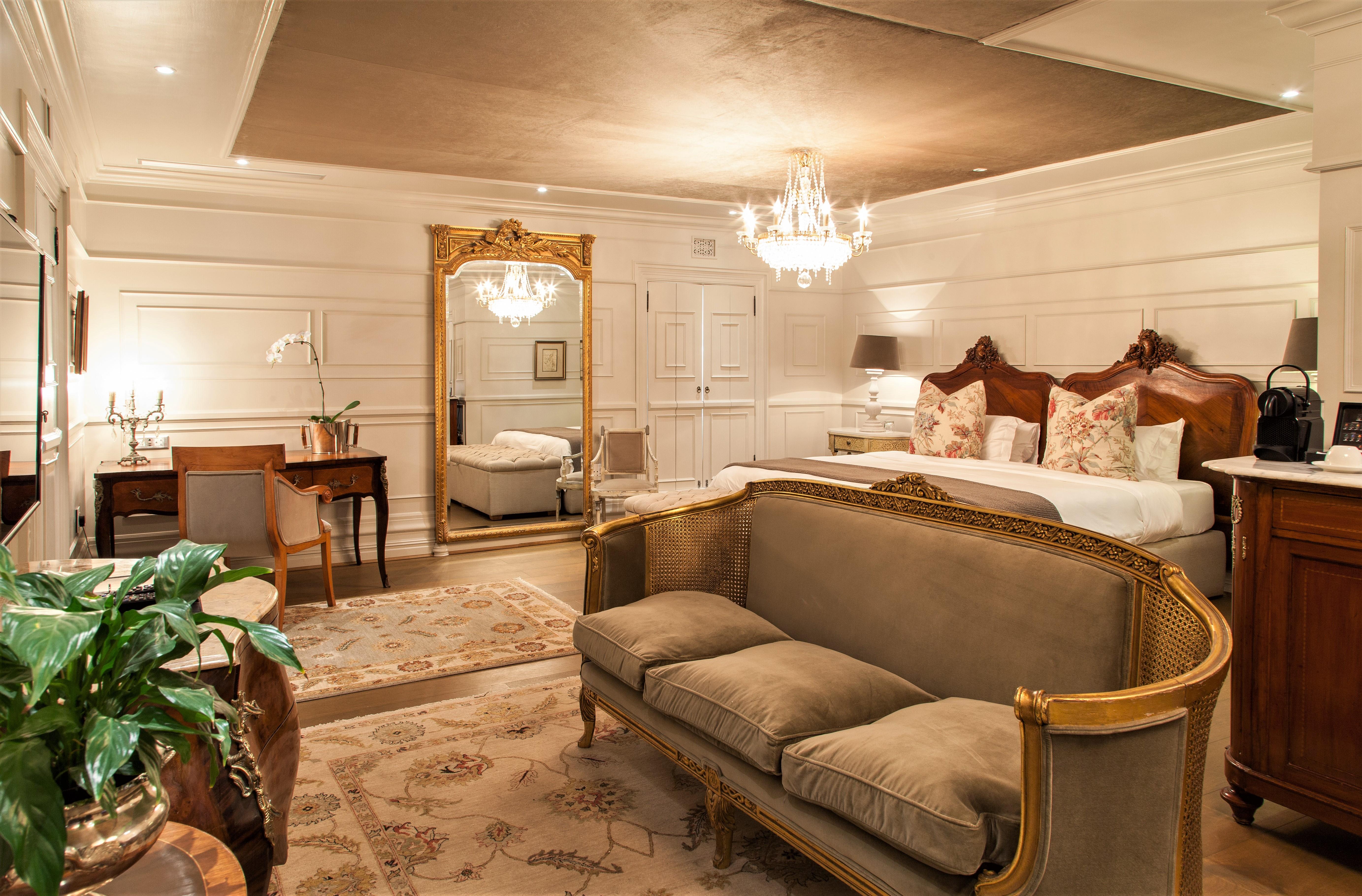 Lanzerac hotel bedrooms