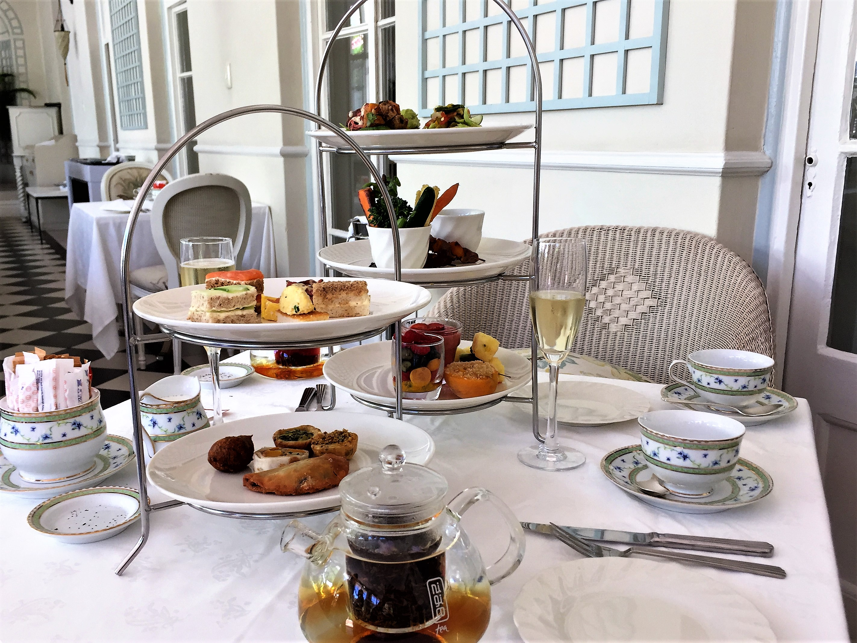High Tea at Mount Nelson Hotel
