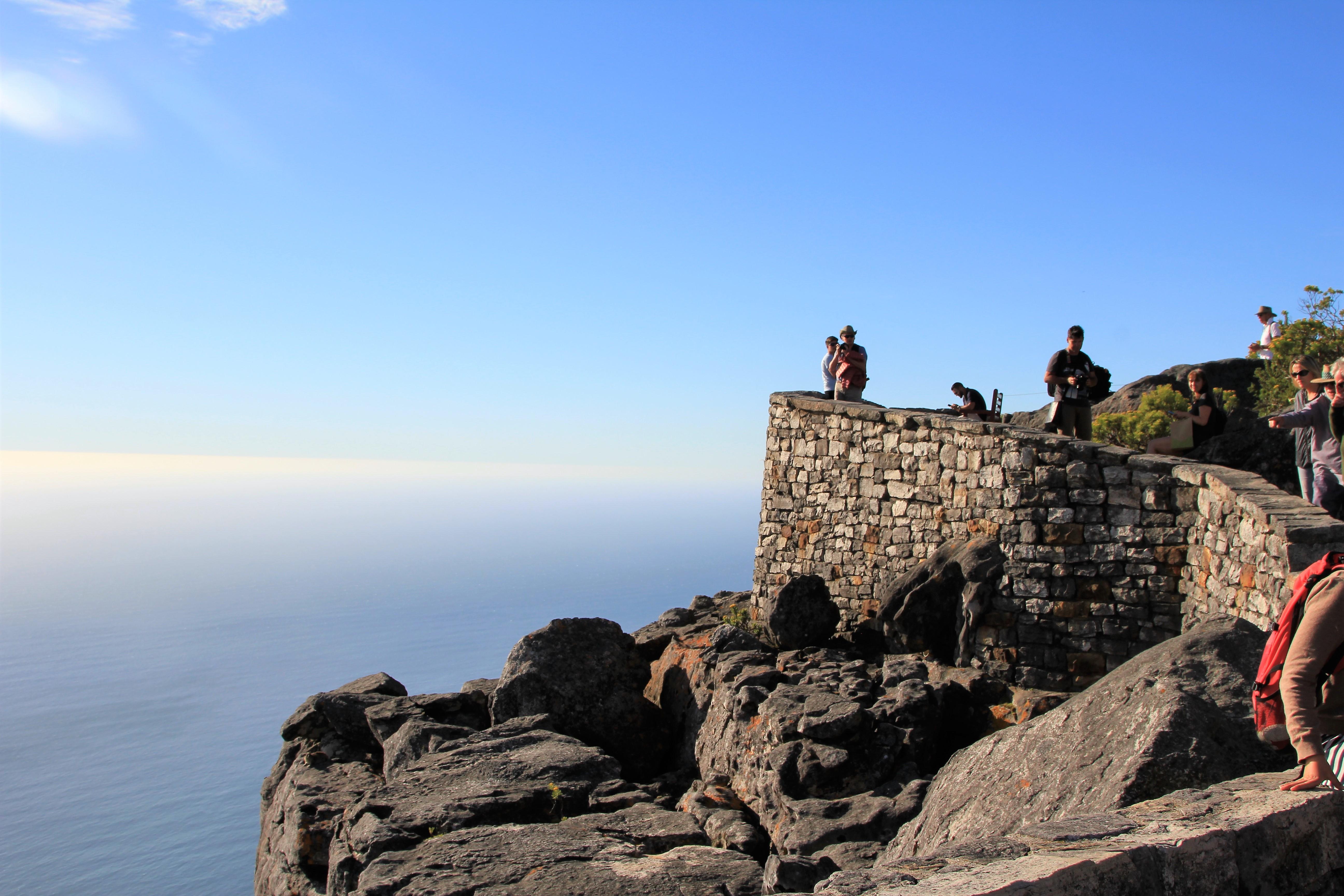 Horizon views from Table Mountain