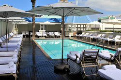 Pool atop the Table Bay Hotel