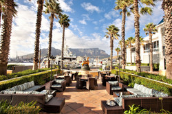 Table Bay - outdoor lounge