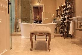 One of the unique luxury designer bathrooms at Lanzerac Hotel & Spa - Stellenbosch - Cape Winelands - South Africa