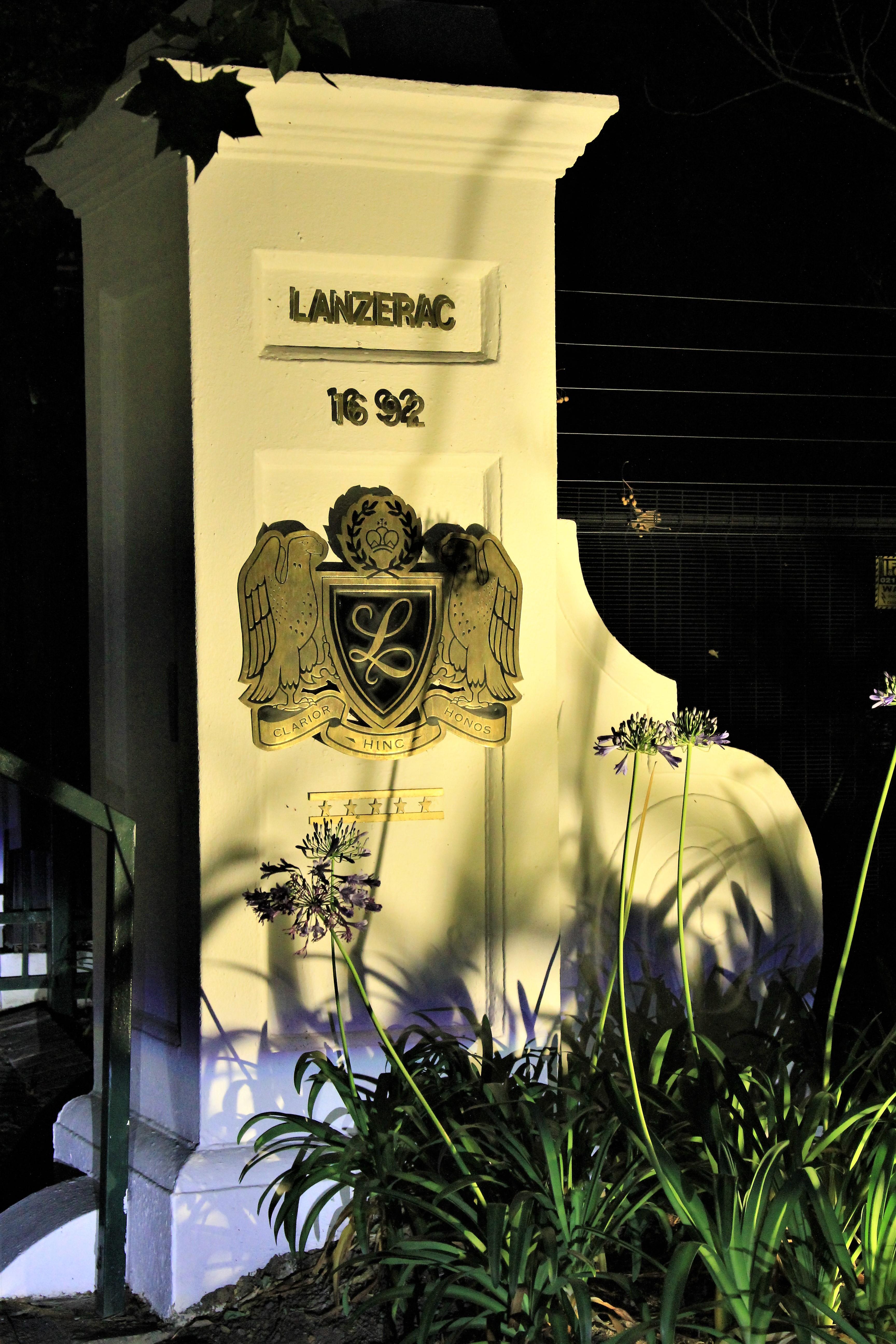 Lanzerac entrance - Stellenbosch