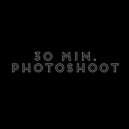 30 minute Photoshoot