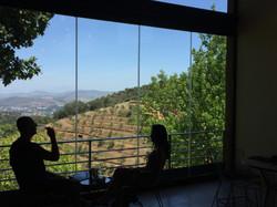 Tokara tasting room views