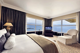 Stunning luxury designer bedrooms at Table Bay Hotel - Cape Town - South Africa - Luxury Wine Trails