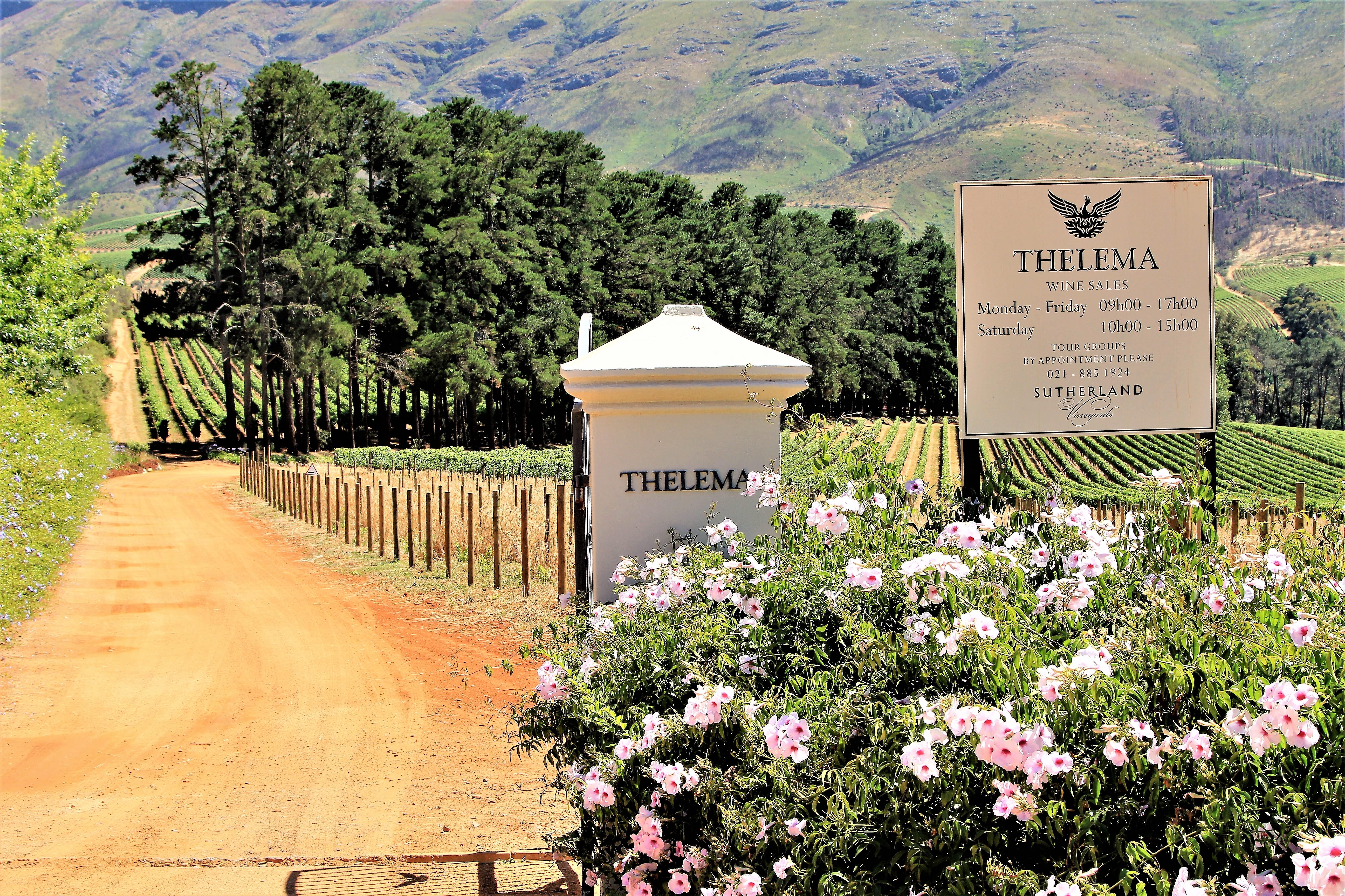 Thelema/Sutherland entrance