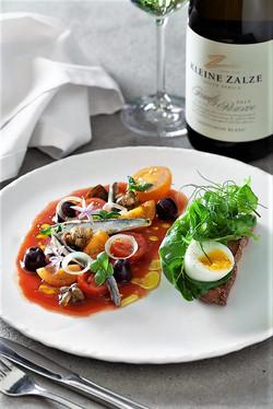 Lunch at Kleine Zalze