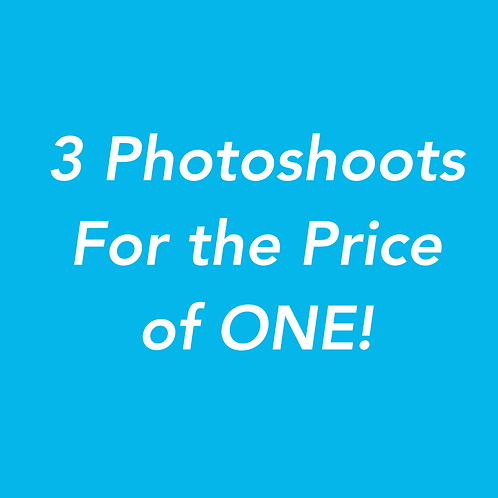 1 Hour Photoshoot & Get 2 Free hours