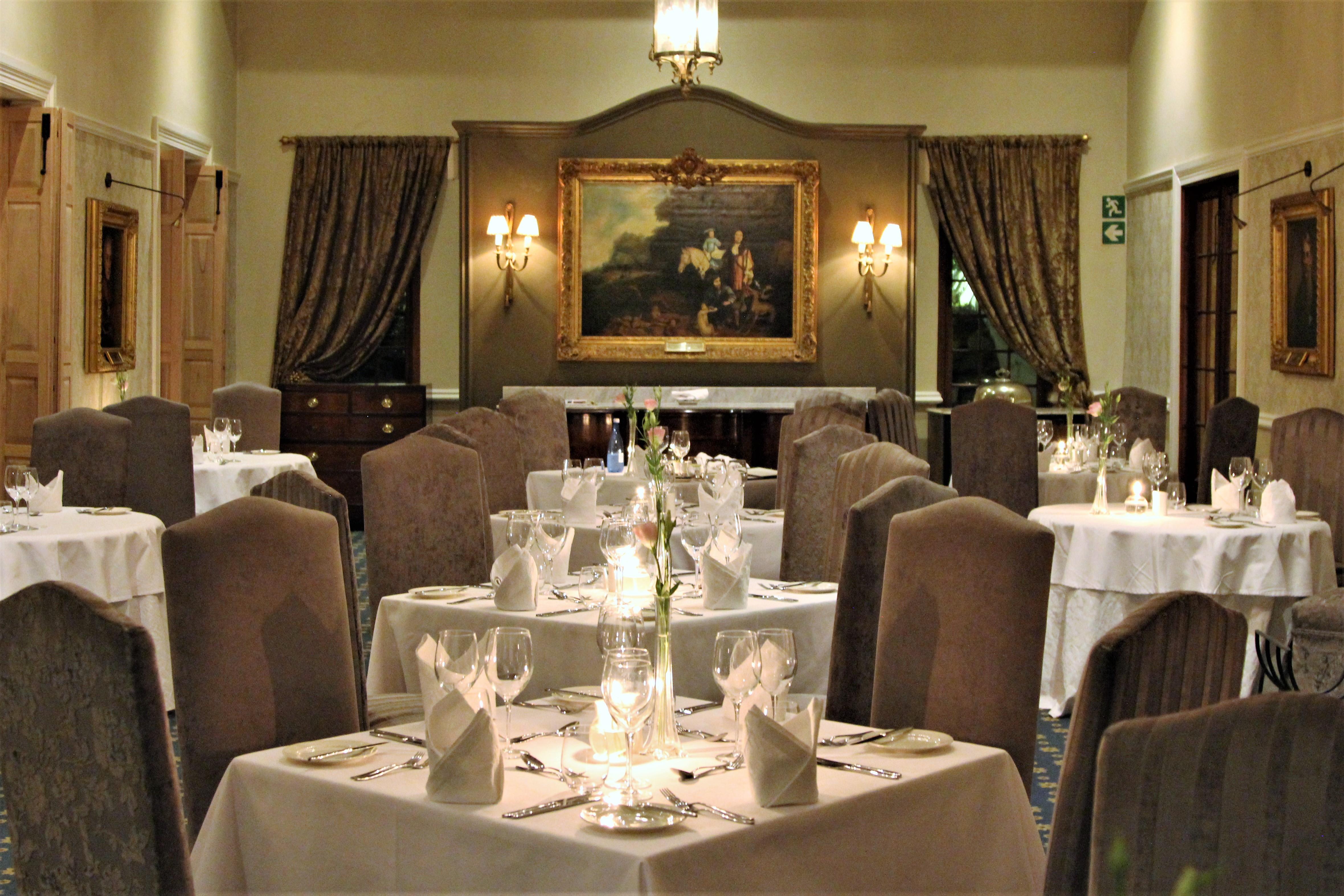 fine dining - Lanzerac
