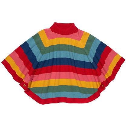 Kite Organic Rainbow Poncho