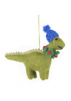 Felt So Good- Cosy Dinosaur Ornament