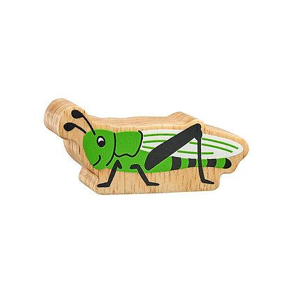Lanka Kade Natural Wooden Green Grasshopper NC195