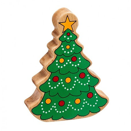Lanka Kade Christmas - Natural Wooden Green Christmas Tree