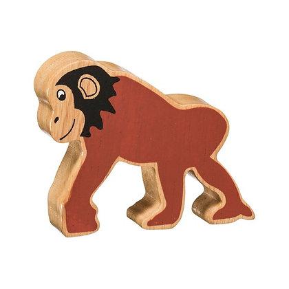 Lanka Kade Natural Wooden Brown Chimpanzee NC262
