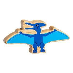 Lanka Kade Natural Wooden Blue Pteranodon NC310