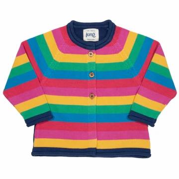 Kite Organic Rainbow Knitted Cardigan