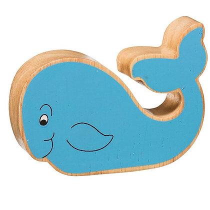 Lanka Kade Natural Wooden Blue Whale NC260