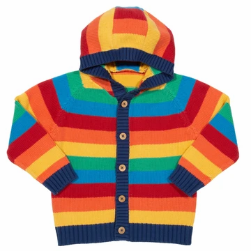 Kite Organic Rainbow Knit Hoody