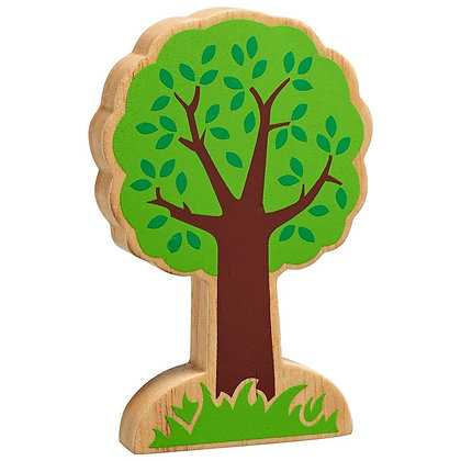 Lanka Kade Natural Wooden Green Tree NC885