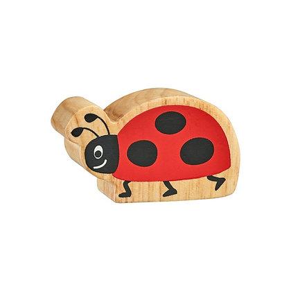 Lanka Kade Natural Wooden Red Ladybird NC191