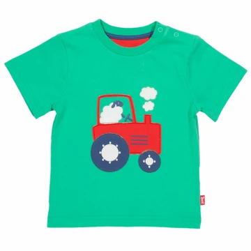 Kite Organic Cotton Tractor Time T-Shirt