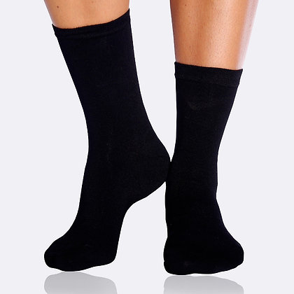 Boody Women's Everyday Socks-Black
