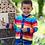 Thumbnail: Kite Organic Rainbow Knit Hoody