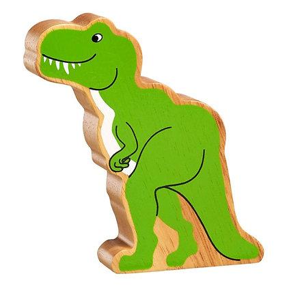 Lanka Kade Natural Wooden Green Tyrannosaurus Rex NC305