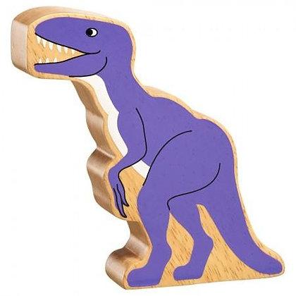 Lanka Kade Natural Wooden Purple Velociraptor NC311