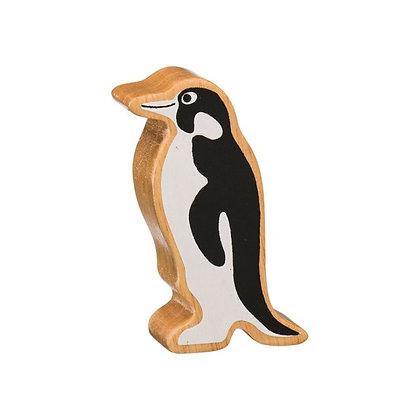 Lanka Kade Natural Wooden Black and White Penguin NC265