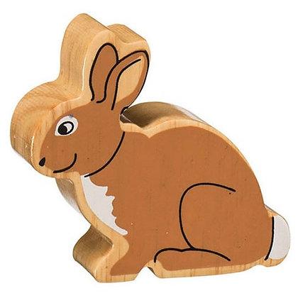 Lanka Kade Natural Wooden Brown Rabbit NC132