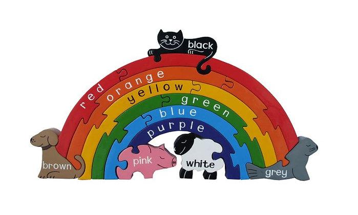 Alphabet Jigsaws- Rainbow Puzzle