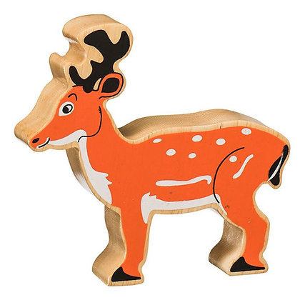 Lanka Kade Natural Wooden Brown Deer NC134