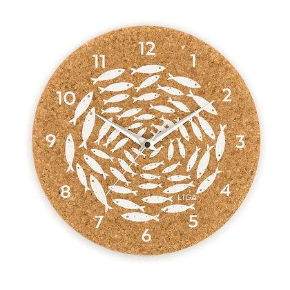 LIGA Cork Clock-Fish