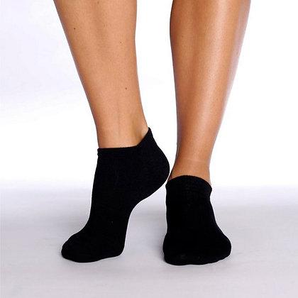 Boody Women's Low Cut Sneaker Socks- Black