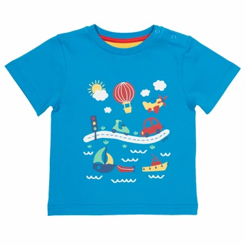 Kite Organic Cotton Go Go Go T-Shirt