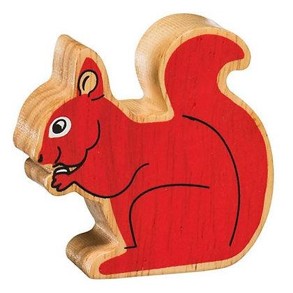 Lanka Kade Natural Wooden Red Squirrel NC133