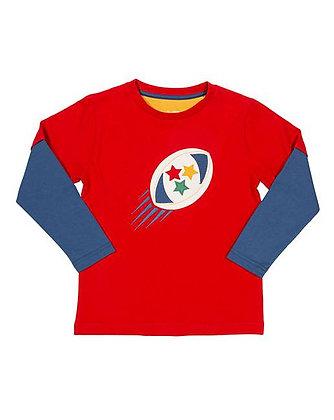 Kite Organic Cotton Rugby T-Shirt