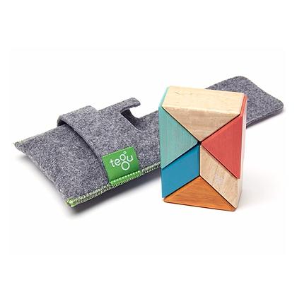 Tegu 6 Piece Magnetic Pocket Pouch - Sunset