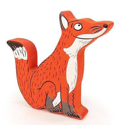 Bajo Mini Wooden Fox