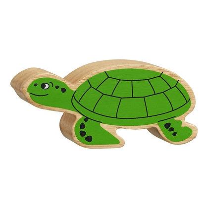 Lanka Kade Natural Wooden Green Turtle NC280