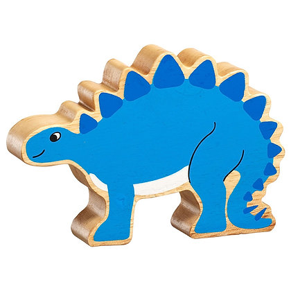 Lanka Kade Natural Wooden Blue Stegosaurus NC304