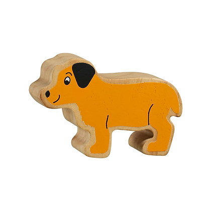 Lanka Kade Natural Wooden Yellow Puppy NC142